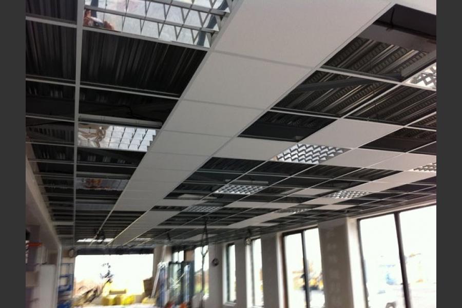 Plafond suspendu cherbourg