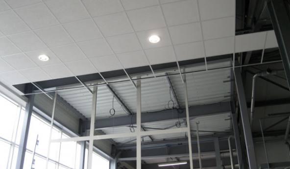 Plafond bois st lo